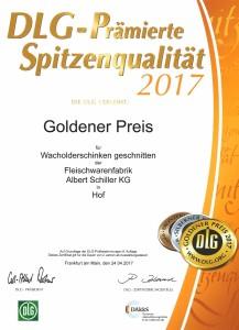 Goldener-Preis_Wacholderschinken_2017